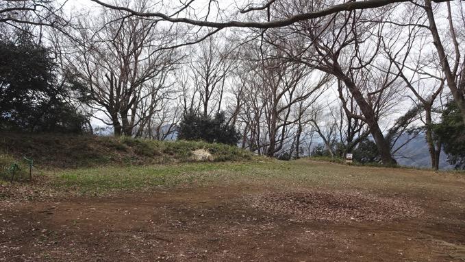津久井城山 山頂