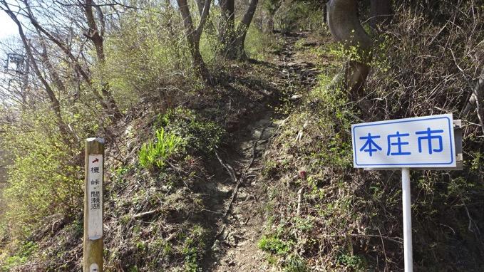 陣見山 登山 コース