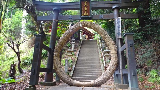 竹寺 茅の輪
