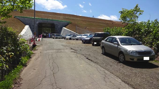 塩谷丸山 駐車場