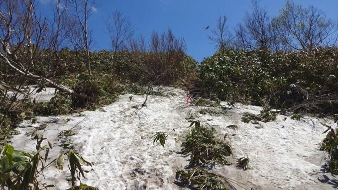 塩谷丸山 登山 雪