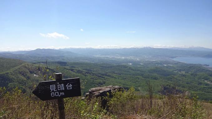 塩谷丸山 山頂 展望
