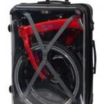 折りたたみ自転車「CARACLE-S」専用のスーツケースが発売されたらしい!