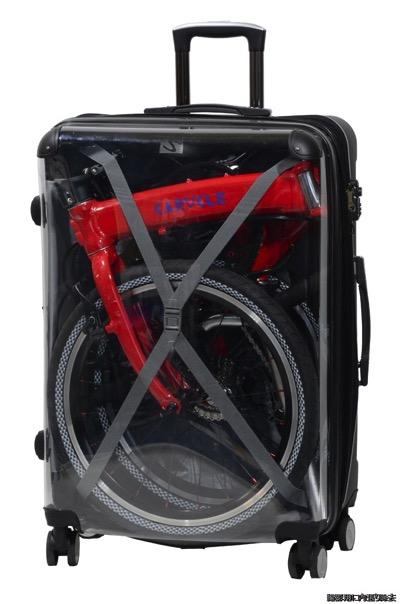 caracle-s スーツケース