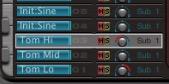ultrabeat シンセタム