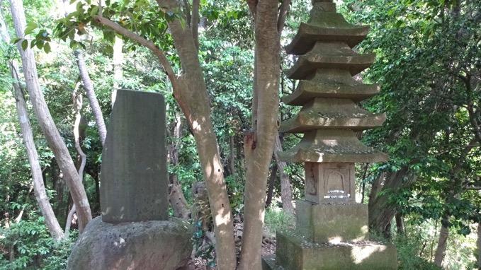 天柱峰の碑