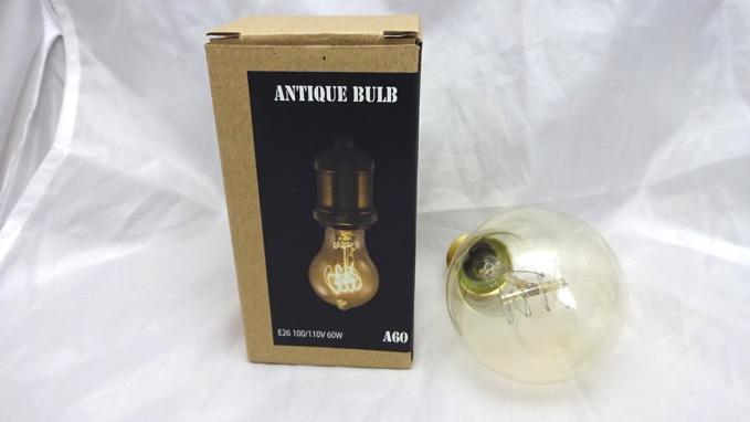 ニトリ アンティーク電球