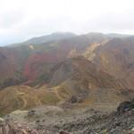 那須岳(茶臼岳)に登山。紅葉と荒涼の風景が凄すぎ! [栃木県那須町]