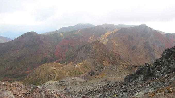 那須岳 茶臼岳 朝日岳 登山