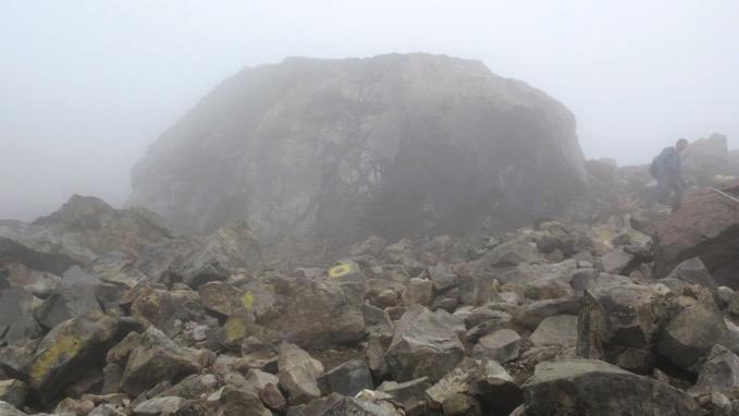 那須岳 茶臼岳 大岩