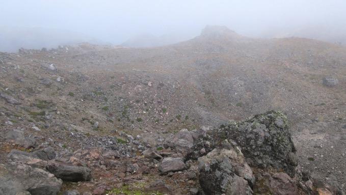 那須岳 茶臼岳 カルデラ