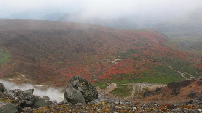 那須岳 茶臼岳 紅葉