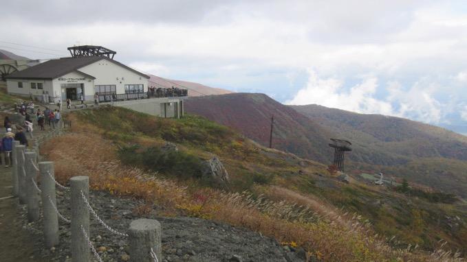 那須岳 茶臼岳 ロープウェイ 山頂駅