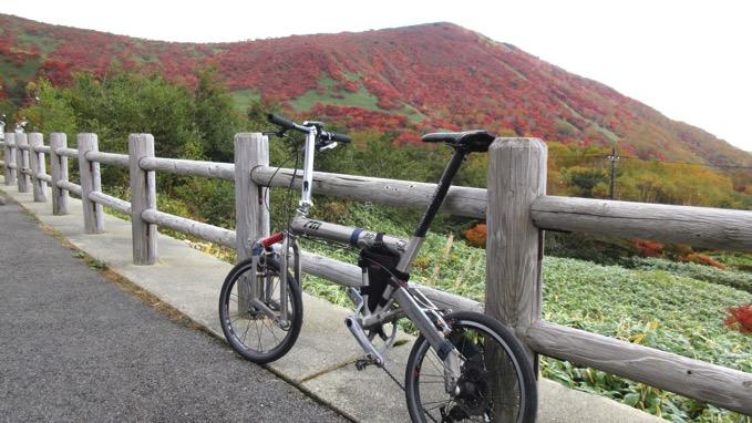 那須岳 峠の茶屋 自転車