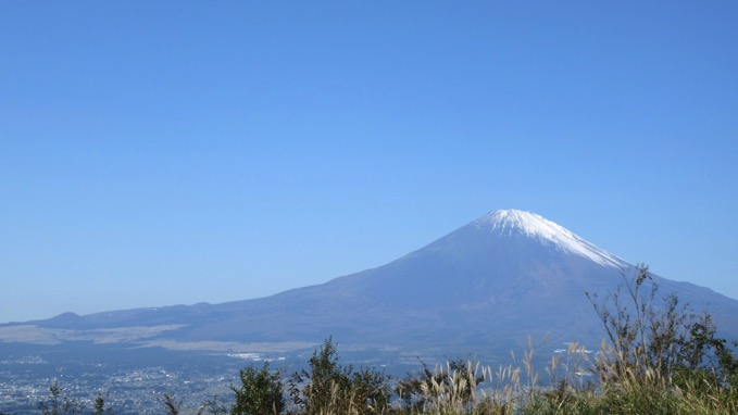 矢倉岳 山頂 眺望 富士山