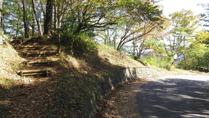 矢倉岳 登山口