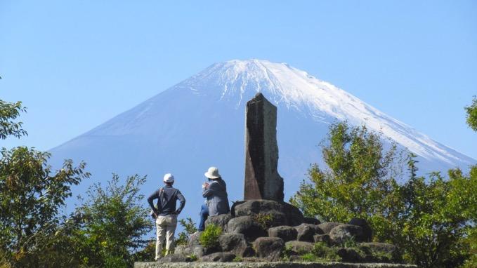 足柄峠 富士山
