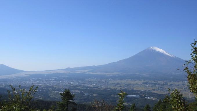 足柄城址 富士山