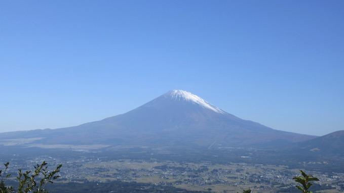 足柄峠 自転車 富士山