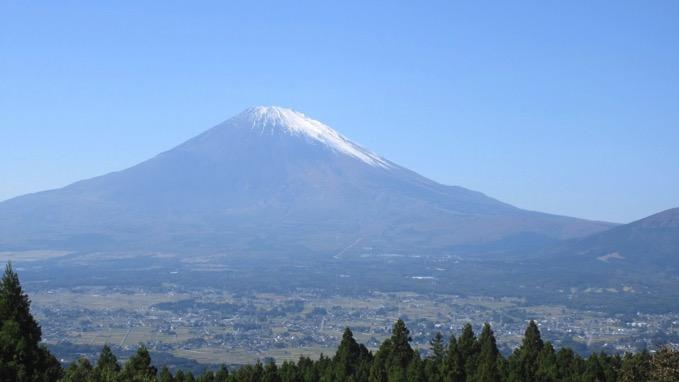 足柄街道 富士山