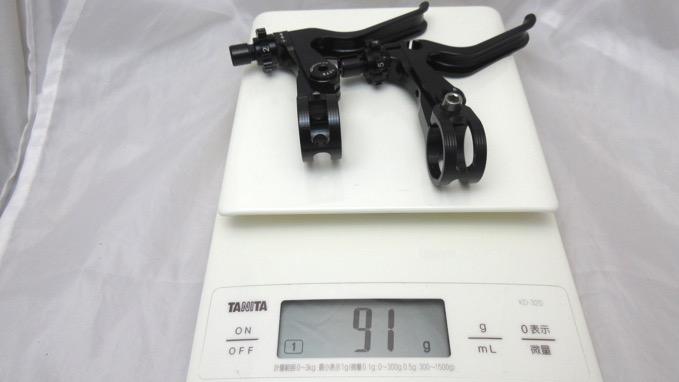 ridea リデア XFH V-Type Lever CNC 重量