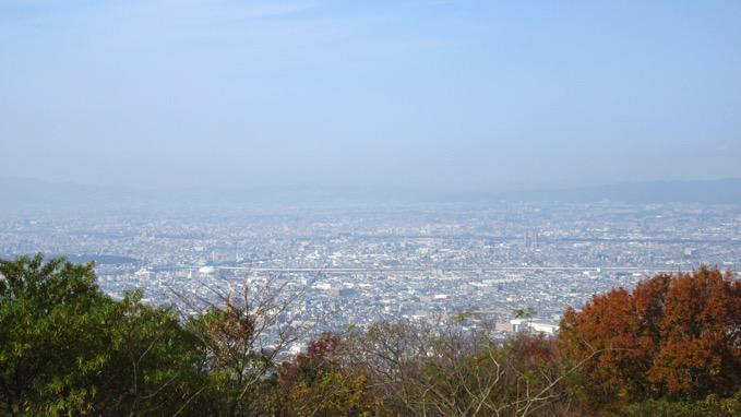 生駒山上遊園地 展望