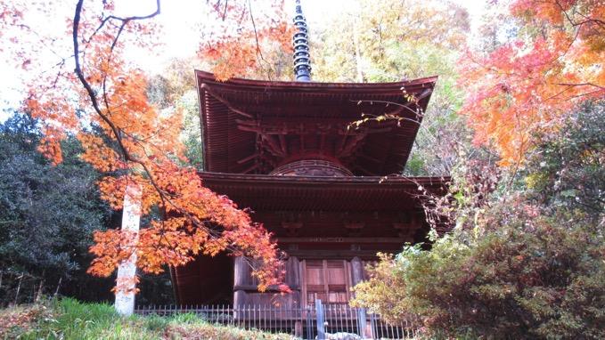 金鑚神社 多宝塔