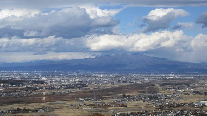 岩山の展望 赤城山