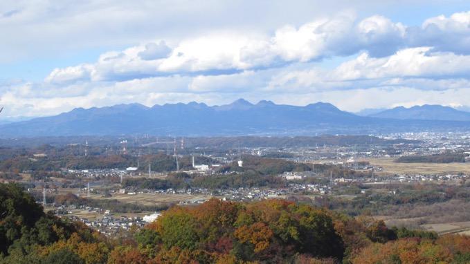 岩山の展望 榛名山