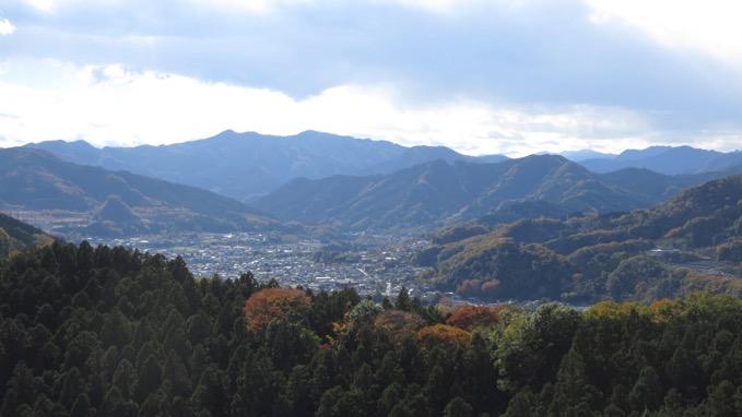 岩山の展望 神川町 秩父方面