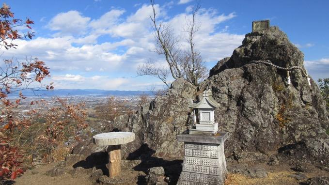 岩山の展望