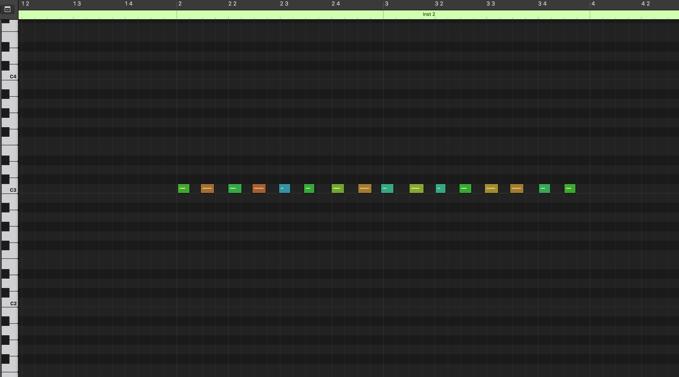 MIDIトランスフォーム機能