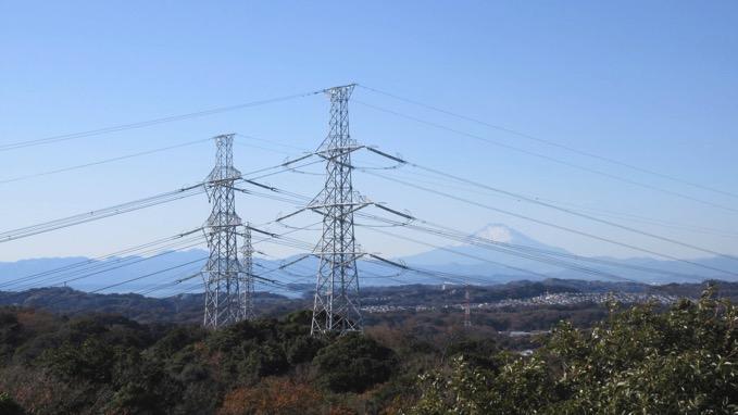 鷹取山 展望台 富士山