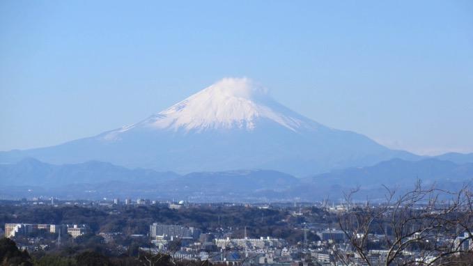 いっしんどう広場 富士山 関東の富士見百景