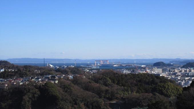 金沢自然公園 展望台