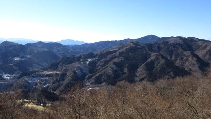 宝登山 山頂 展望
