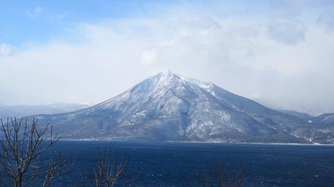 恵庭岳 支笏湖
