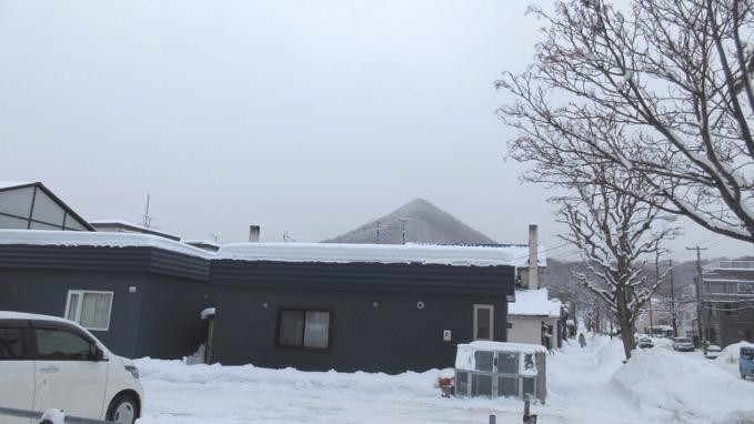 三角山 冬