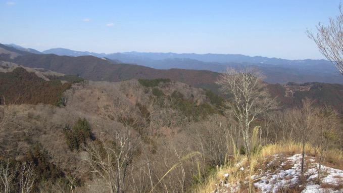 高水三山 登山