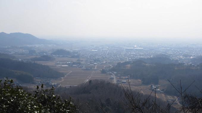 唐沢山神社 展望
