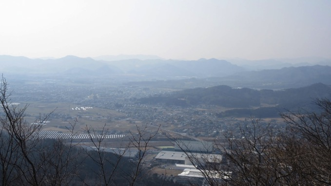 諏訪岳 山頂 展望