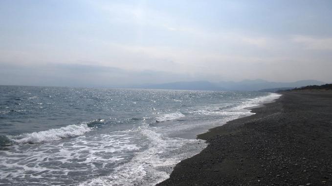 照ケ崎海岸 こゆるぎの浜 大磯