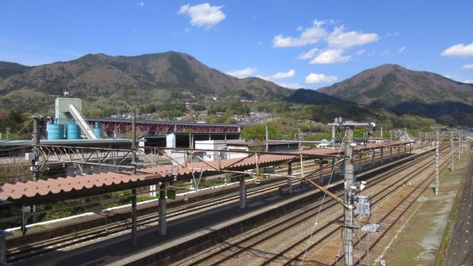 百蔵山 猿橋駅
