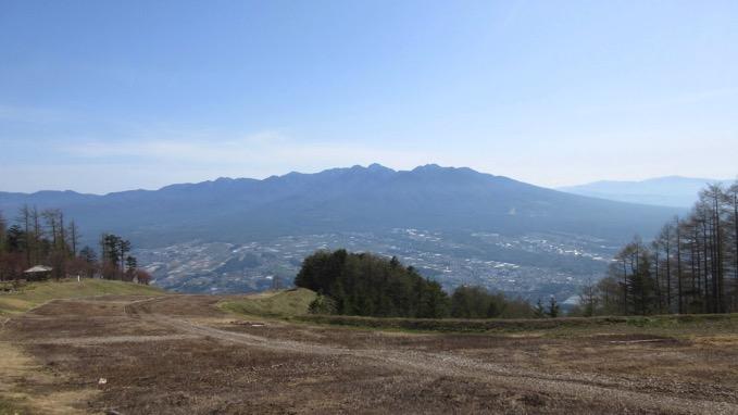 入笠山 登山