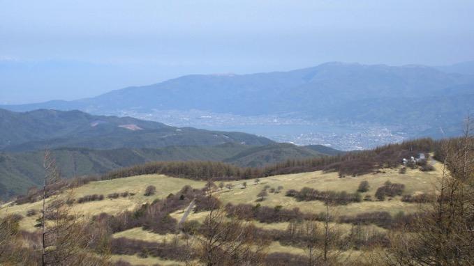 入笠山 山頂 展望