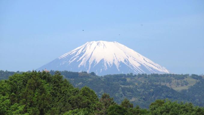 渋沢丘陵 富士山