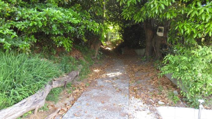 仙元山 ハイキングコース入口