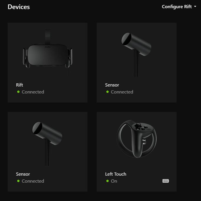 Oculus device