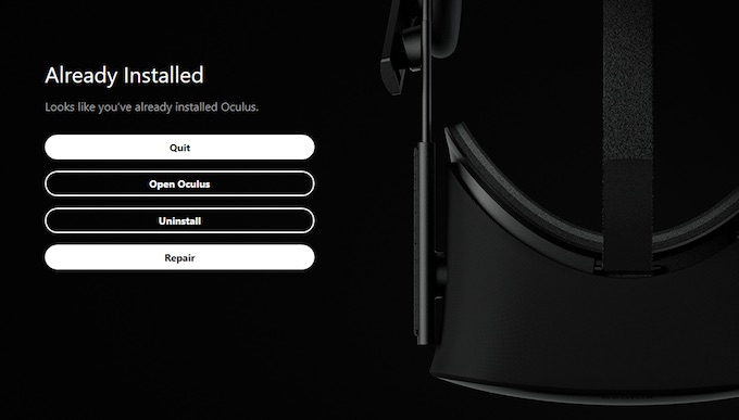 oculus rift repair