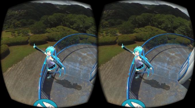 oculus rift 360° 全天球写真